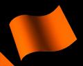 【反射シート CSライト】CL-162橙 /A4サイズ(210mm×297mm)【ゆうパケット可】