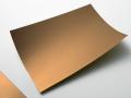 【カッティングシート ヘアライン】銅艶/A4サイズ(210mm×297mm)【ゆうパケット可】
