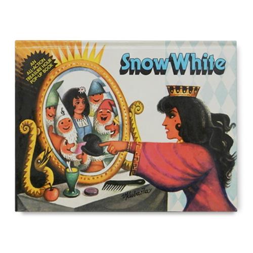 チェコの絶版 ポップアップ絵本 「白雪姫」
