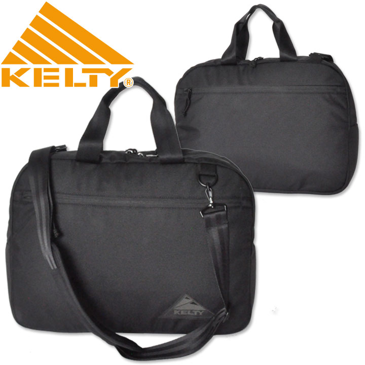KELTY(ケルティ) URBAN TRAD BRIEFCASE ALL BLACK