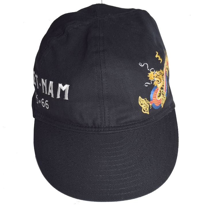 テーラー東洋(TAILOR TOYO)HERRING BONE CAP『VIET-NAM』TT02501-119 Black