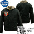 "BUZZ RICKSON'S(バズリクソンズ)N-1 DACK JACKET Navy ""NAVY DEPARTMENT""『SNOOPY PATCH』 BR13625"