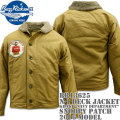 "BUZZ RICKSON'S(バズリクソンズ)N-1 DACK JACKET Khaki ""NAVY DEPARTMENT""『SNOOPY PATCH』 BR13625"