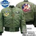 BUZZ RICKSON'S(バズリクソンズ)フライトジャケット MA-1『LION UNIFORM INC. 1957 MODEL』SKYBLAZERS BR13620