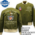 BUZZ RICKSON'S(バズリクソンズ)スヌーピーコラボ BR×PEANUTS『SNOOPY TOUR JACKET』BR13779-149 Olive
