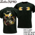 テーラー東洋(TAILOR TOYO)スカTシャツ SUKA T-SHIRT『JAPAN MAP』TT77493-119 Black