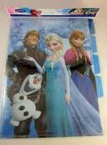 値下げ!アナと雪の女王 4段クリアファイル