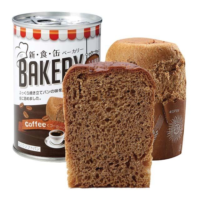 缶入りソフトパン コーヒー味