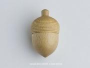木工作家の木下直樹の木製子供知育玩具「ベビートイシリーズ」どんぐりガラガラ