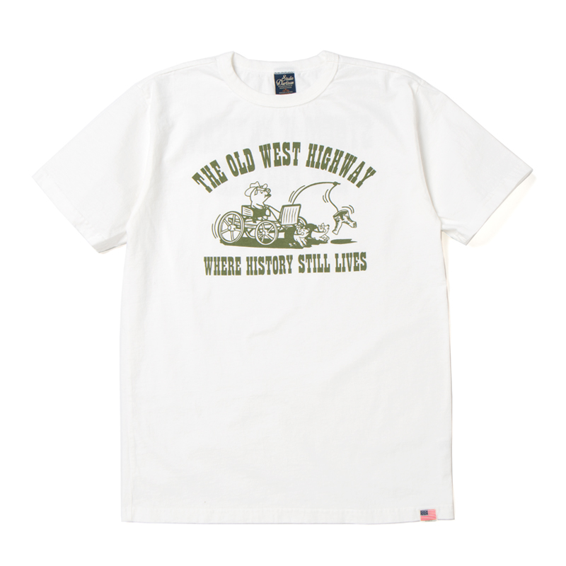 USAコットンプリントTシャツ【8006A】