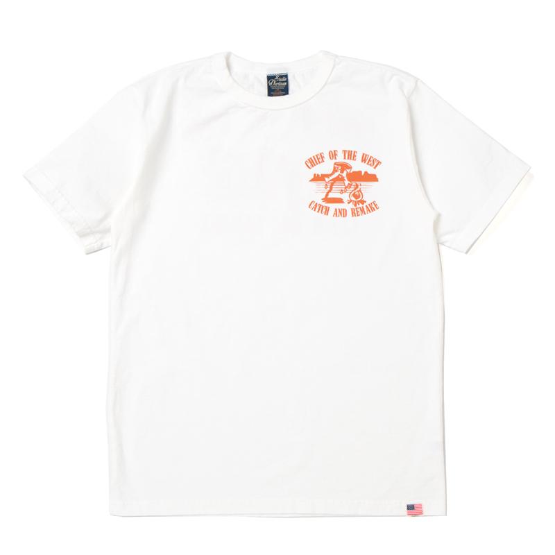 USAコットンプリントTシャツ【8006B】