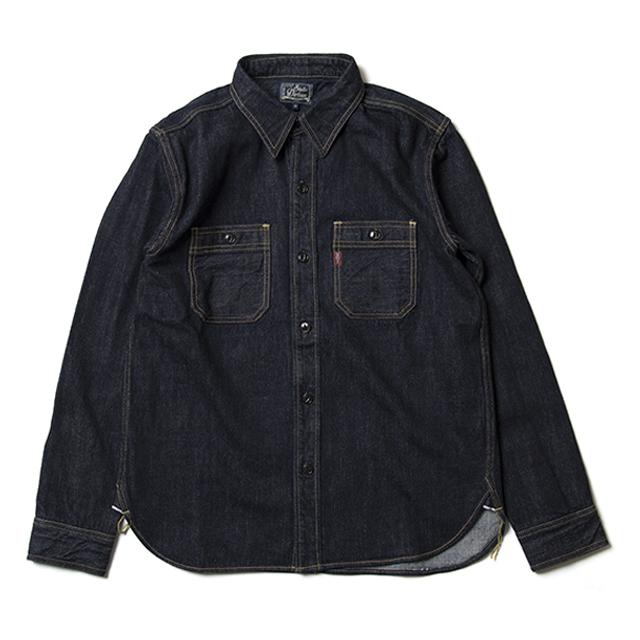 14oz デニムワークシャツ【D5335】