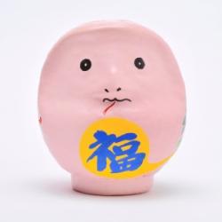 高崎だるま 2013年の干支だるま へびだるま(ピンク)