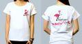 杏子新曲「Flamingo Rose」×BAILA BAILA vol.16コラボ限定Tシャツ!【white】