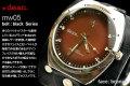 ハリウッドスターも愛用するLAブランド★deanの腕時計(mw05_black)