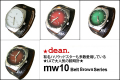 ★dean.腕時計【mw10 lizardbrown】