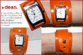 ハリウッドスターも愛用するLAブランド★deanの腕時計(ww08)