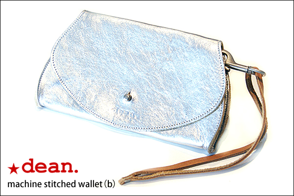 ★dean. wal01(b) machine stitched wallet