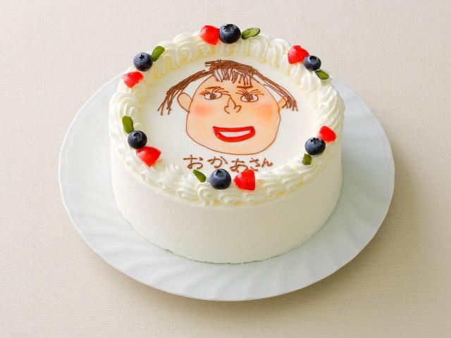 お絵描きケーキ5号