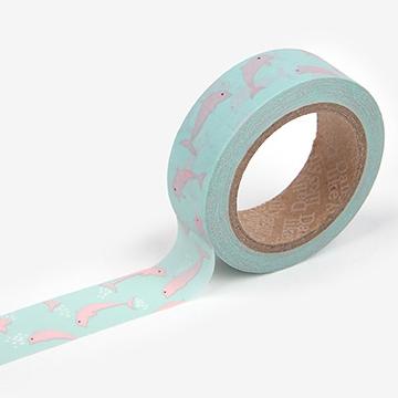 マスキングテープ 32 : Pink dolphin