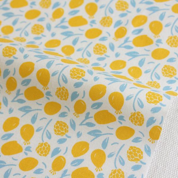 生地・布 ≪ Honey Lemon ≫  コットン/幅110cm デコレクションズオリジナル生地・布 【10cm単位販売】【メール便OK】