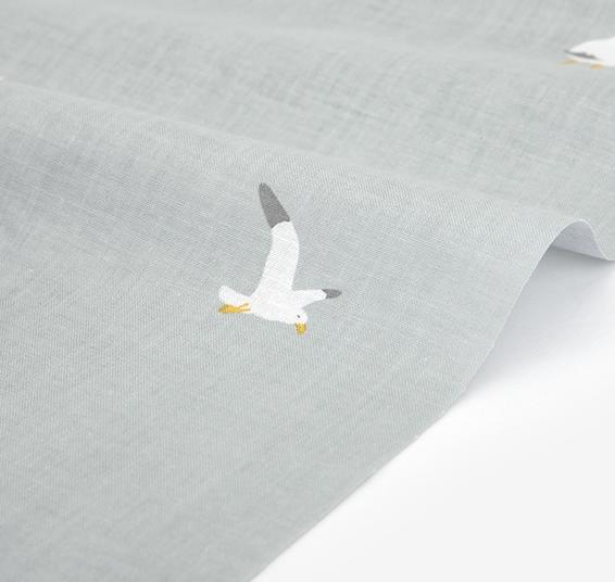 生地・布 ≪ Gull - gull ≫  コットン/幅157cm デコレクションズオリジナル生地・布 【10cm単位販売】【メール便OK】