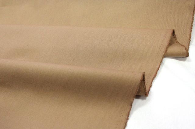 生地・布 ≪ カフェオレベージュ ≫  オックス生地/幅110cm 【10cm単位販売】【メール便OK】 無地