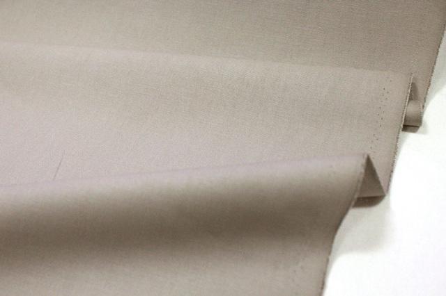 生地・布 ≪ グレージュ ≫  オックス生地/幅110cm 【10cm単位販売】【メール便OK】 無地