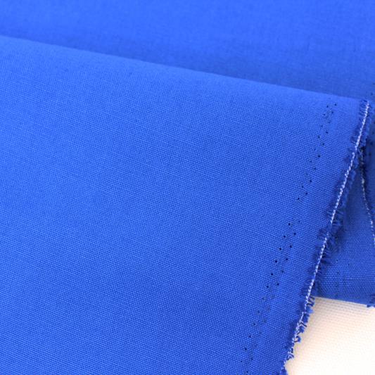 生地・布 ≪ ロイヤルブルー ≫  オックス生地/幅110cm 【10cm単位販売】【メール便OK】 無地