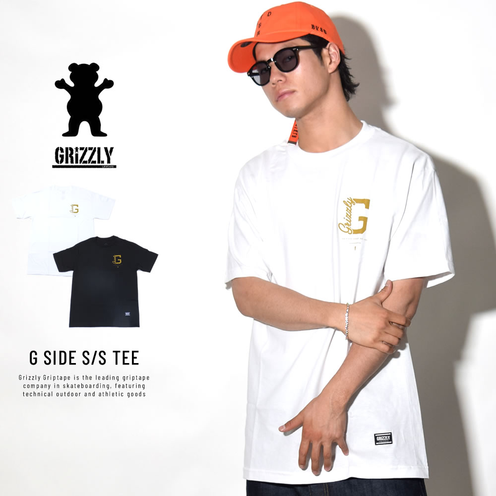 GRIZZLY グリズリー 半袖Tシャツ G SIDE S/S TEE (GMB1801P10)