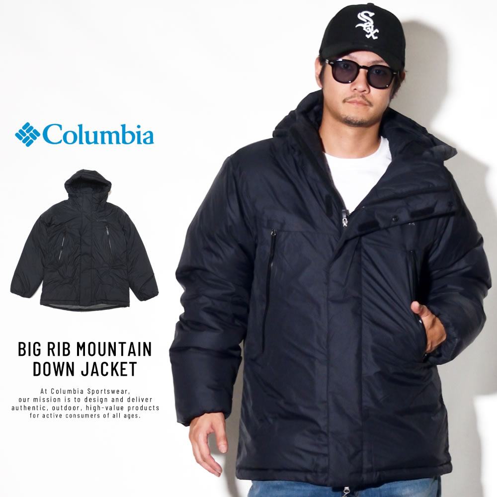 COLUMBIA コロンビア ダウンジャケット BIG RIB MOUNTAIN DOWN JACKET PM5608