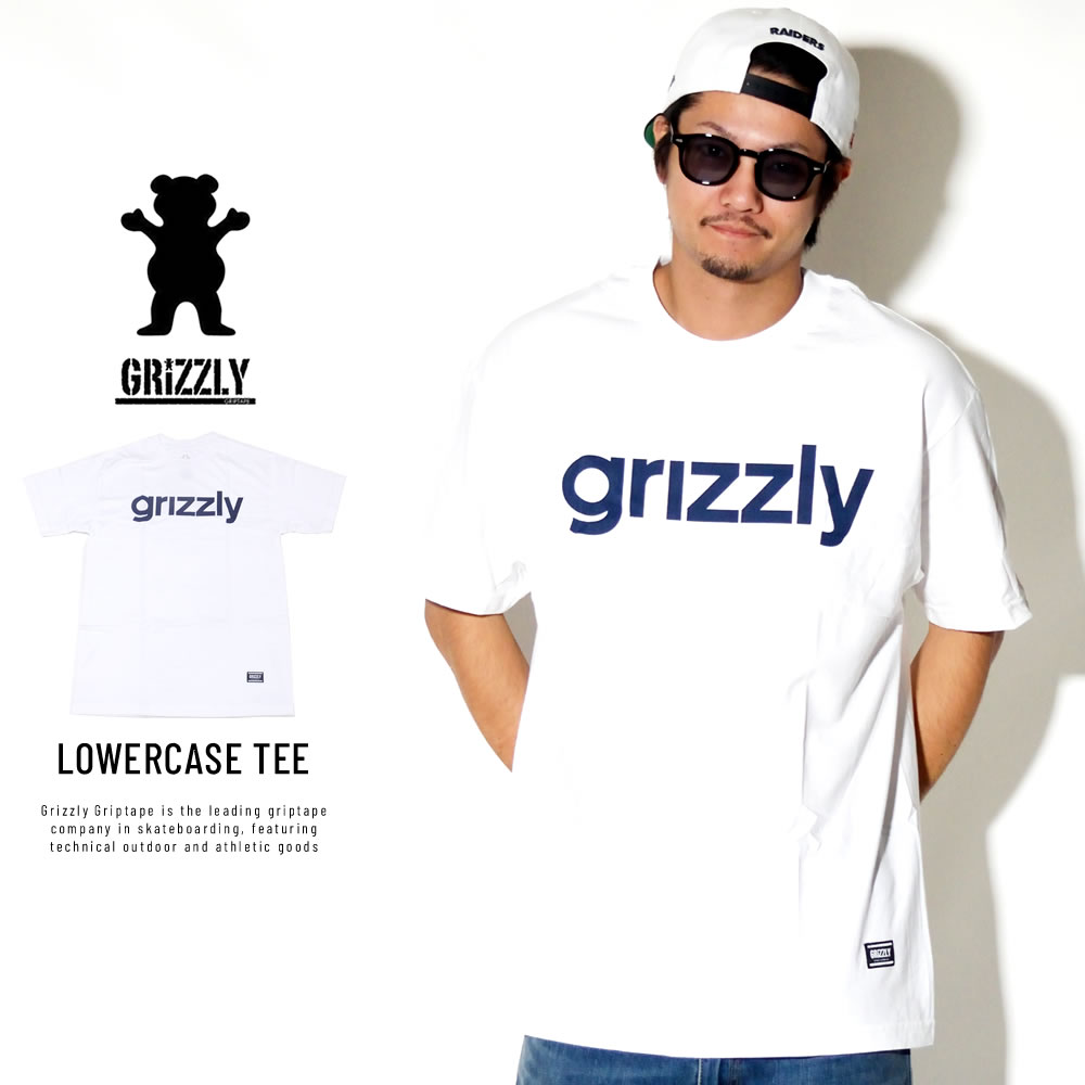 Grizzly Griptape 半袖Tシャツ LOWERCASE TEE Z00GPA97