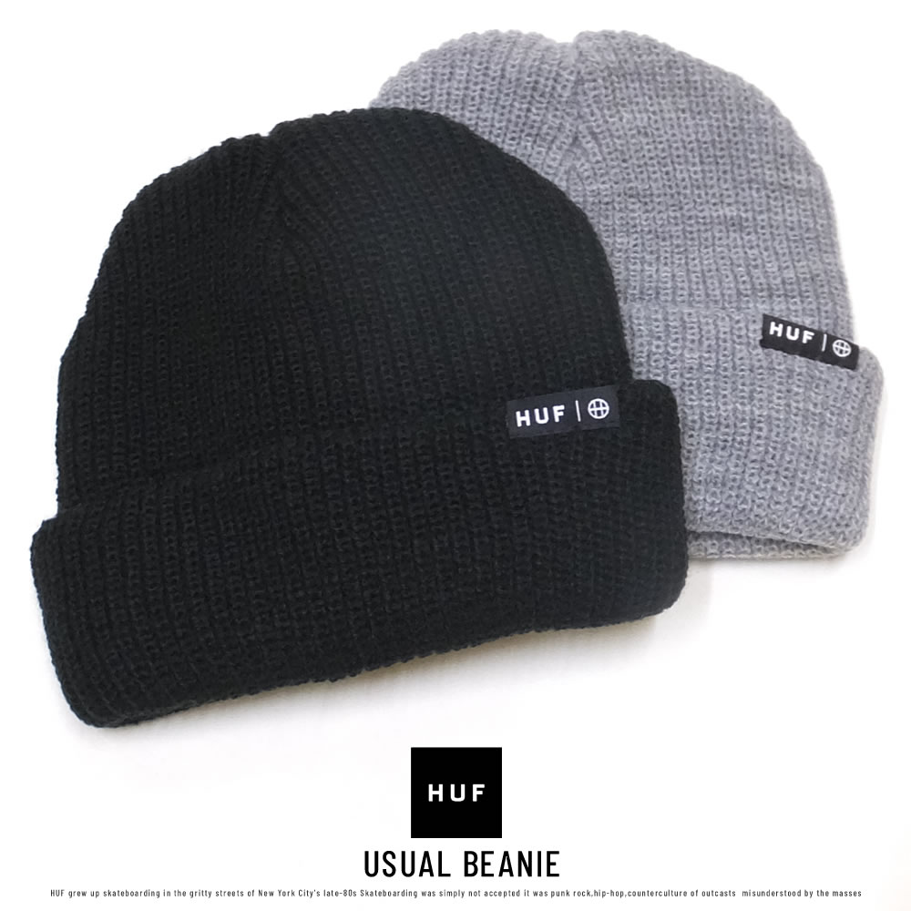 HUF ハフ ビーニー USUAL BEANIE BN00060