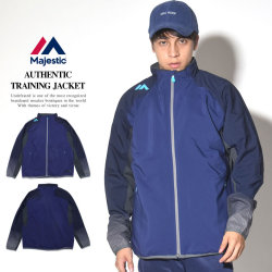MAJESTIC マジェスティック トラックトップ AUTHENTIC TRAINING JACKET XM23-NVY5-MAJ0031 7V5416