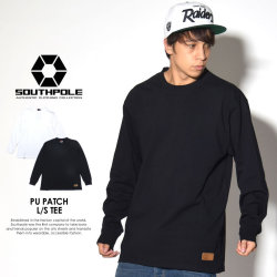 SOUTH POLE サウスポール 長袖Tシャツ PU PATCH L/S TEE 11731002 7V7053