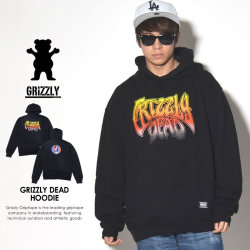 GRIZZLY グリズリー プルオーバーパーカー GRIZZLY DEAD HOODIE SMC1708P07 7V8044