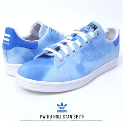 adidas アディダス スニーカー コラボ PHARRELL WILLIAMS HU HOLI STAN SMITH FTWWHT/FTWWHT/BLUE (AC7045)