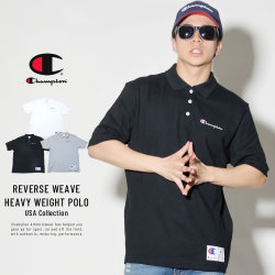 CHAMPION チャンピオン ポロシャツ REVERSE WEAVE HEAVY WEIGHT POLO (T3959)