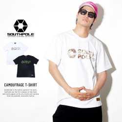 SOUTHPOLE サウスポール 半袖Tシャツ CAMOUFRAGE T-SHIRT (11822053)