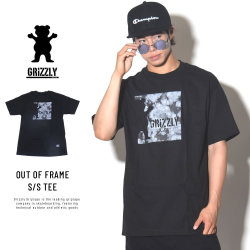 GRIZZLY グリズリー 半袖Tシャツ OUT OF FRAME S/S TEE (GMB1801P14)