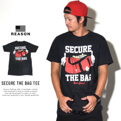 REASON リーズン 半袖Tシャツ SECURE THE BAG TEE (T9P-06B)