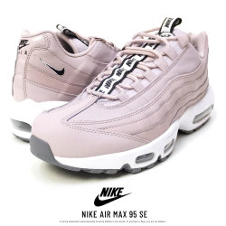 NIKE ナイキ シューズ NIKE AIR MAX 95 SE PARTICLE-ROSE/BLACK/WHITE (AQ4129-600)