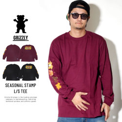 Grizzly Griptape 長袖Tシャツ SEASONAL STAMP L/S TEE GMC1802P17