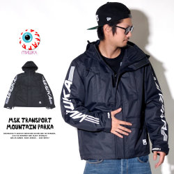 MISHKA ミシカ ウインドブレーカー MSK TRANSPORT MOUNTAIN PARKA MAW180502