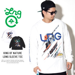 LRG エルアールジー 長袖Tシャツ KING OF NATURE LONG SLEEVE TEE L181108