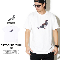 STAPLE ステイプル 半袖Tシャツ OUTDOOR PIGEON FILL TEE 1811C5292