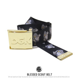 DGK ディージーケー ベルト BLESSED SCOUT BELT ABT-1000
