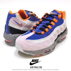 NIKE ナイキ スニーカー AIR MAX 95 CHAMPAGN/SAFETY-ORANGE AV7014-600
