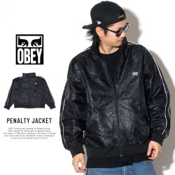 OBEY オベイ ウィンドブレーカー PENALTY JACKET 121800363