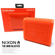 NIXON スピーカー THE MINI BLASTER RED-PEPPER NH012383 6V9124